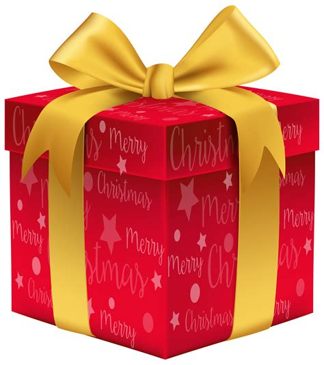 merry christmas red gift png clip art image gallery yopriceville high quality images