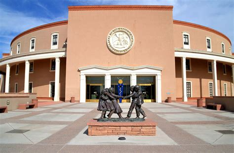 The New Mexico State Capitol Building Santa Fe New | new mexico state capitol building in santa fe new mexico
