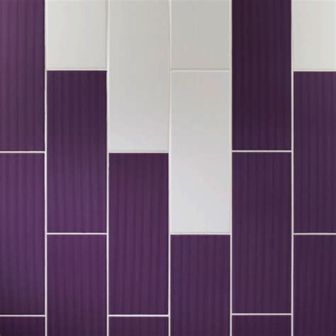 johnson vvd5a purple gloss brick ceramic wall tile