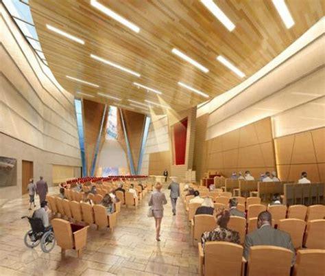 air force village chapel designer church architects