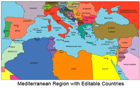 mediterranean countries map map of mediterranean countries pictures to pin on