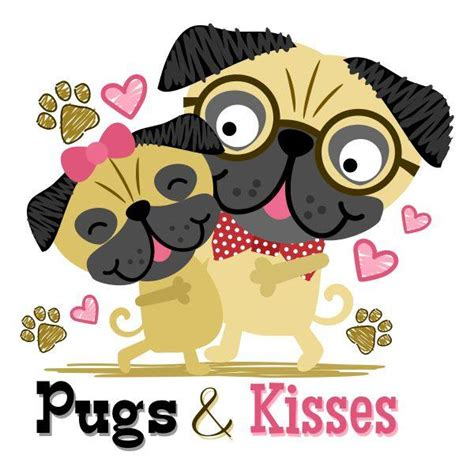 pugs and kisses a wish novel books children s illustration archives sanqunetti design