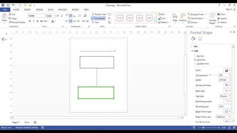 cara membuat flowmap di microsoft visio cara membuat garis putus putus di microsoft visio 2013