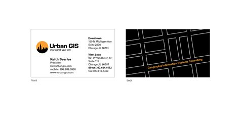 Gis Business Card