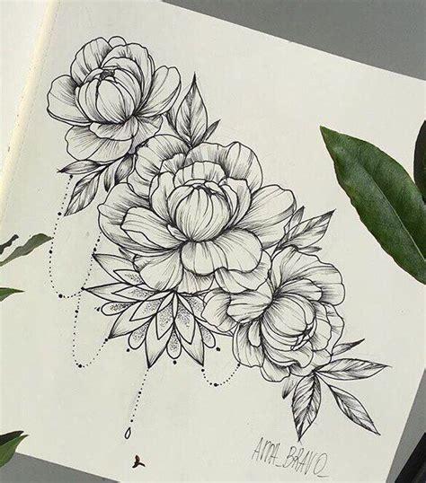 peony flower tattoo designs фотографии тату и эскизы 4 альбома