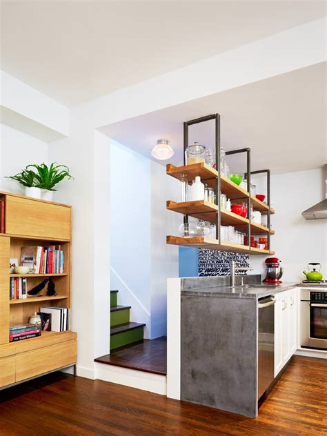 kitchen open shelving design 23 hanging wall shelves furniture designs ideas plans