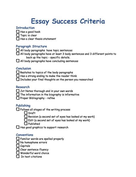 An Essay About Success by Essay Success Criteria Kauffeeology