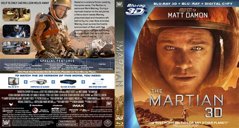 the martian 3d dvd cover 2015 r1