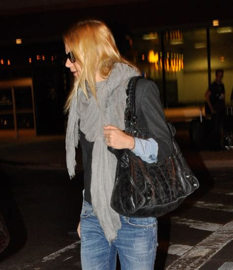 Gwyneth Paltrows Balenciaga Moon Bag by The Many Bags Of Gwyneth Paltrow Purseblog