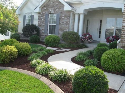 simple front yard landscaping design ideas on a budget 22