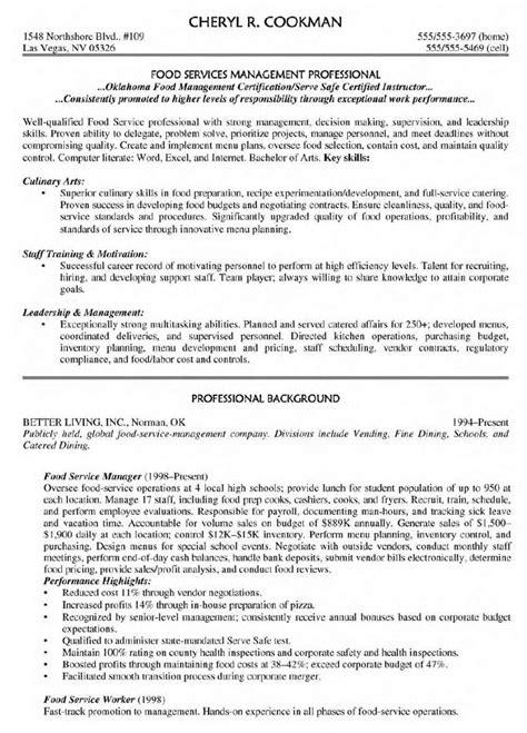 Resume Sample For Manager – Management Resume Package BrightSide Resumes