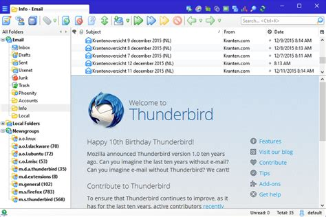 thunderbird themes for windows 10 phoenity shredder add ons for thunderbird