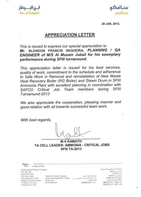 client appreciation letters certificates
