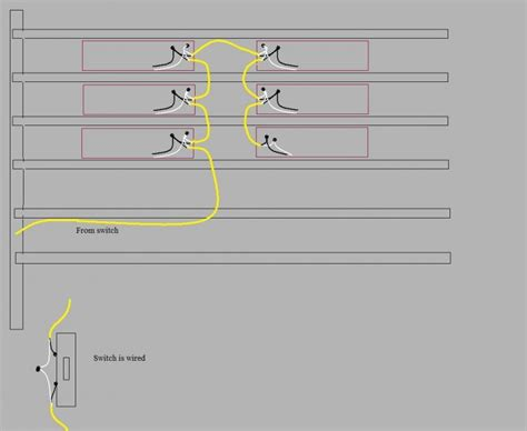 wiring fluorescent lights in series diagram wiring free