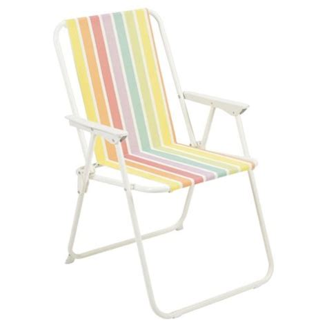 buy tesco folding picnic chair from our metal garden