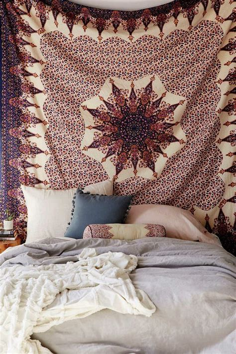 bed tapestry tapestries beach bed and copper wall on pinterest