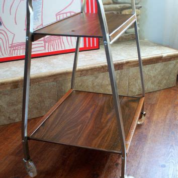 50s mid century tv cart retro vintage from aces finds vintage