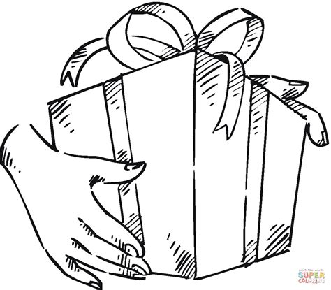 birthday present coloring page search results for present coloring picture calendar 2015