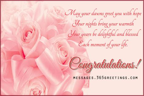 Wedding Congratulation Words by Wedding Congratulation Greetings 365greetings