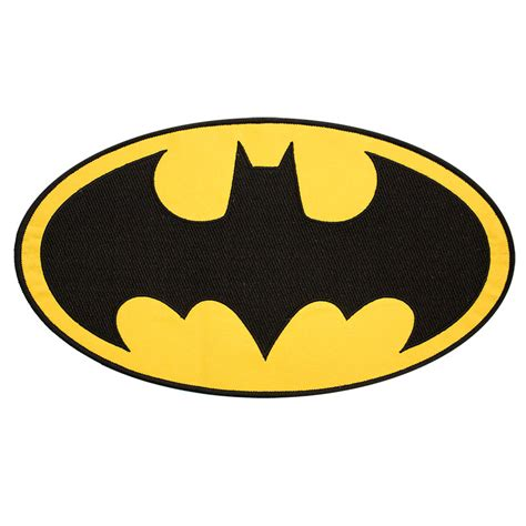 Batman Logo 1 batman classic logo patch superheroden