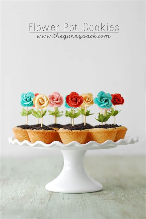 diy flower pot cookies recipe pictures photos and images diy cute flower pot cookies