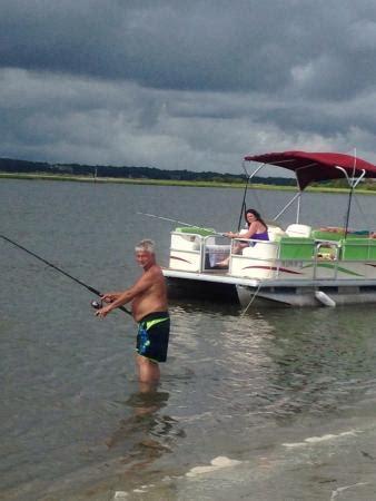 pontoon boat rental myrtle beach sc thomas outdoors water sports anchor marina north myrtle