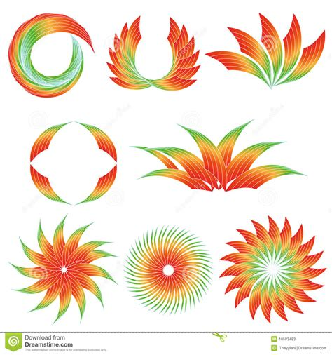 colorful designs colorful gradient designs stock photos image 10583483