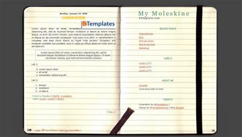 notebook templates for blogger 16 best moleskine hacks images on pinterest moleskine