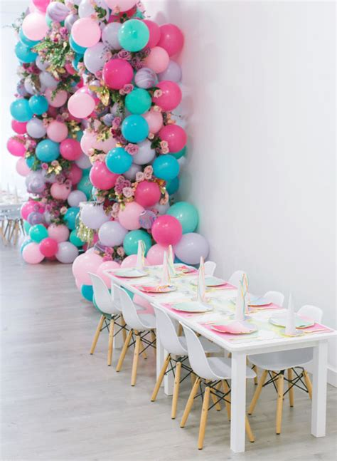 Table Home Decor by This Unicorn Themed 1st Birthday Party Is Definitely The