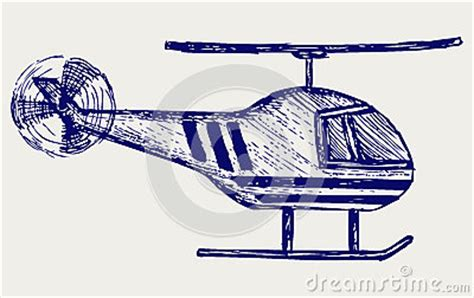 doodle helicopter helicopter royalty free stock photography image 28588317