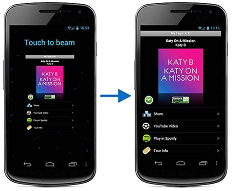 how to use android beam patent reveals android beam meant to do more talkandroid