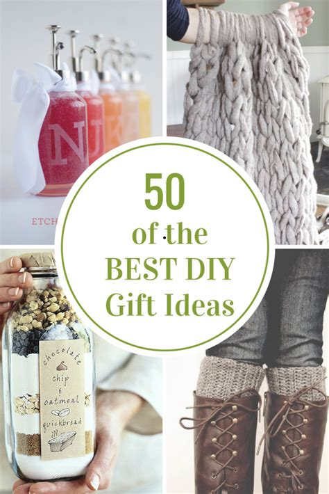 ideas for 50 of the best diy gift ideas the idea room