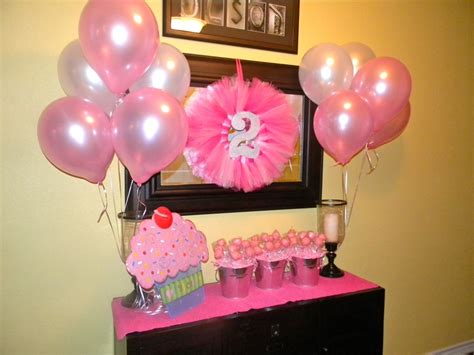 2nd Birthday Decorations At Home 2nd Birthday Decorations Birthdays Pinterest