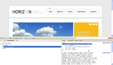how to change template html exc13 fondos en html informatica