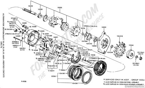 alternator diagram ford truck technical drawings and schematics section i