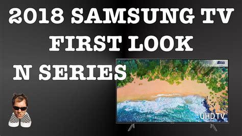 samsung new 2018 smart tv s n series look