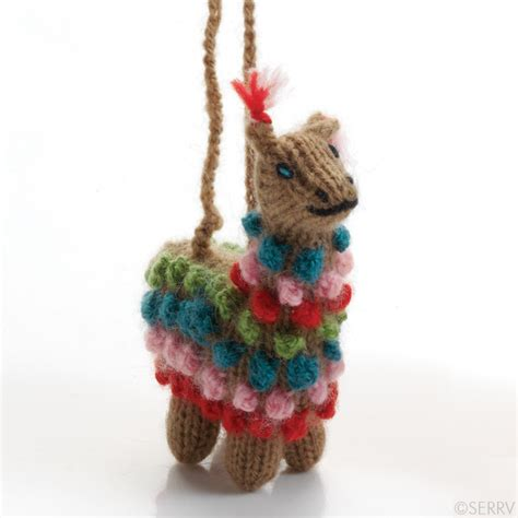 highland alpaca ornament