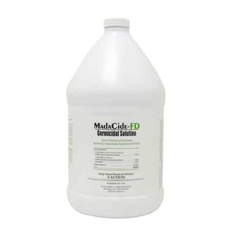 tattoo machine disinfectant madacide fd surface disinfectant sterilization 32oz