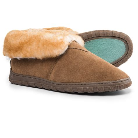 rjs fuzzies slippers rj s fuzzies sheepskin bootie slippers for save 50