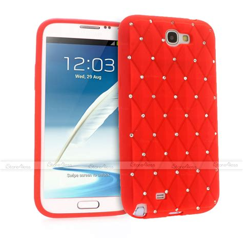 Samsung Galaxy Note 4 Flower Rubber Soft Silicon Cover sparkle bling soft silicone for