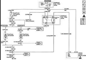 1995 chevy suburban fuel pump relay diagram 1995