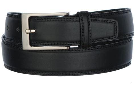 strait city image mens dress belt black 1837v2