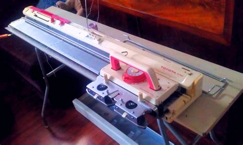 toyota knitting machine knitting machine adventures