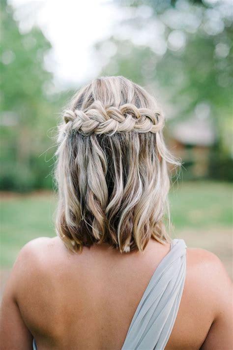 Bridesmaid Hairstyles For Length Hair bridesmaid hairstyles for medium length hair oosile