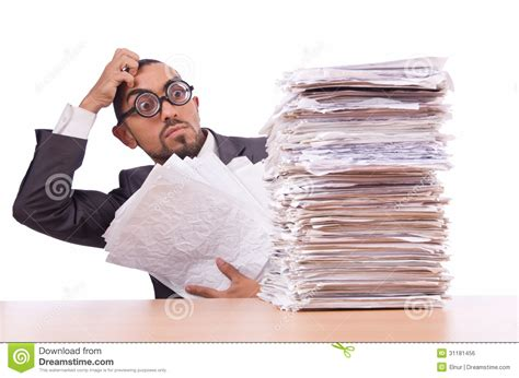 Busy Busy Doing Lots Of Writing Lots Of Shoppin busy businessman royalty free stock image image 31181456