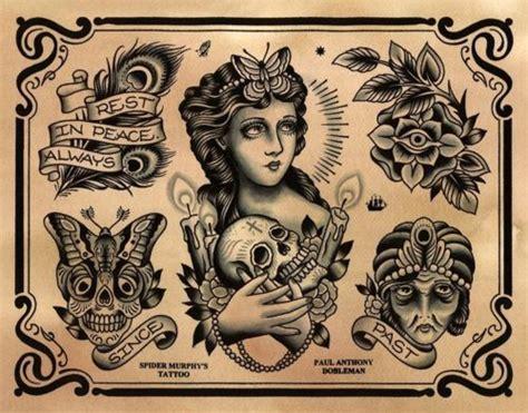 flash tattoo usa paul anthony dobleman spider murphy s tattoo san rafael