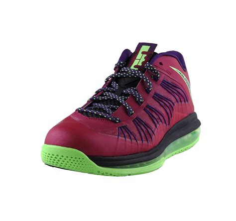 kevin durant low top basketball shoes nike lebron x low lbj10 eggplant color basketball shoes