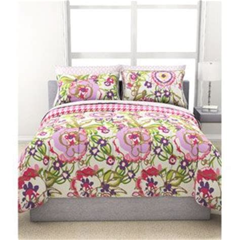 bright floral bedding amazon com 7pc girl reversible fun bright green pink