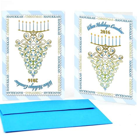 interfaith december holiday gifts  holidays combine greeting cards