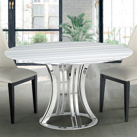 Marble Dining Tables Uk Aroma Striped Marble Dining Table Robson Furniture